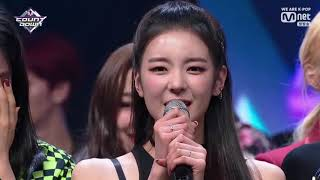 ITZY在M CountDown的初一位   ︳ITZY's first win