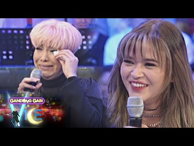 GGV: Vice Ganda gets emotional