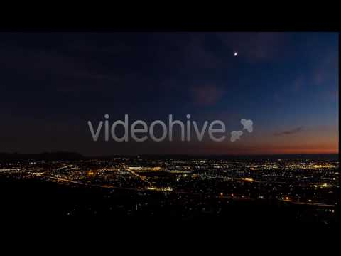 Burbank, Los Angeles, CA Day To Night Sunset - Stock Footage | VideoHive 13979740