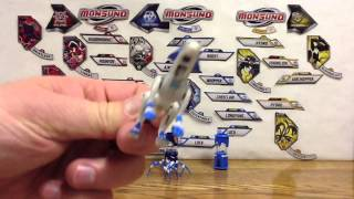 Wave 4 Monsuno Toy Opening - # 47 Echo Whipper and # 48 Echo Arachnablade