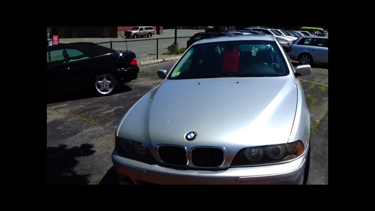 2002 bmw 540i m sport 6 spd e39 startup walkaround. Black Bedroom Furniture Sets. Home Design Ideas