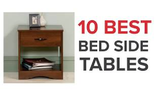 10 Best Bed Side Tables in India with Price