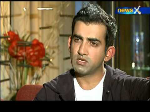Gautam Gambhir exclusively on NewsX