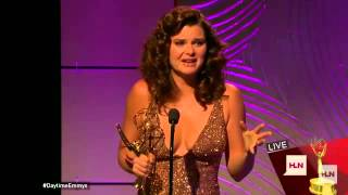 Emmy Gold! Heather Tom does it again!