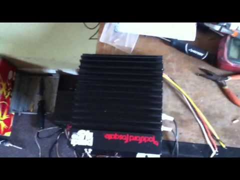 Rockford Fosgate Punch 45HD test after repair
