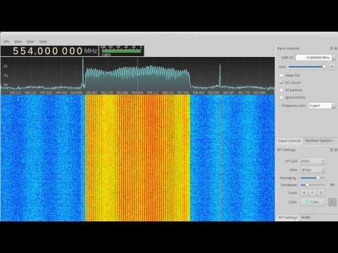 HackRF smoke testing: DVB-T mux