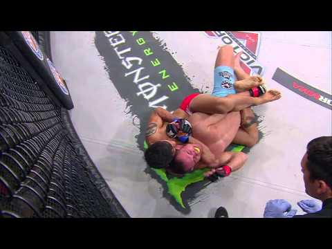 Bellator MMA Moment Eduardo Dantas Submits Anthony Leone