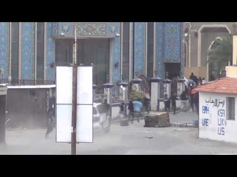 Bahrain This is How Mercenaries Riot Police Run Over PeaceFul Protesters