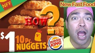 The Real Reason Burger King's Chicken Nuggets are SO CHEAP!! - New Fast Food feat. Big Daddy TV