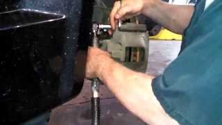 Front brake pad replacement 2008 - 2013 Chrysler Town and Country pads rotors Install Remove Replace
