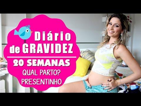 20 semanas do BabyMinelli ♥ Diário de Gravidez ♥ Consulta/Parto/Sintomas/Presentinhos