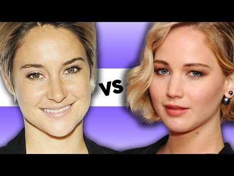 Jennifer Lawrence VS Shailene Woodley – Most Down to Earth Celebrity of 2014