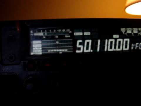 MOV01418 HP1AVS 50.110 CE4WJK CE3RR YAESU FT-450  HAM HAMRADIO SIX METER 50 MHZ HAM-RADIO  CA3SOC