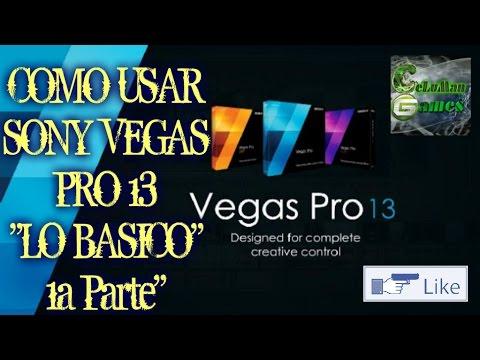 Como usar Sony Vegas Pro 13 para editar vídeos