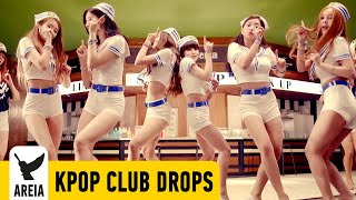 KPOP Sexy Girl Club Drops Vol. III Sep 2015 (AOA SNSD) Trance Electro House Trap Korea