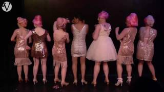Champagne Bubbles - Group Burlesque Act / Vaudezilla JV