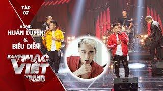 BAN NHẠC VIỆT 2017 | Tập 7 Full HD: Ban nhạc toàn hot boy hát hit Sơn Tùng M-TP khiến fan chao đảo