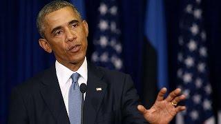 Obama calls for NATO solidarity in Ukraine