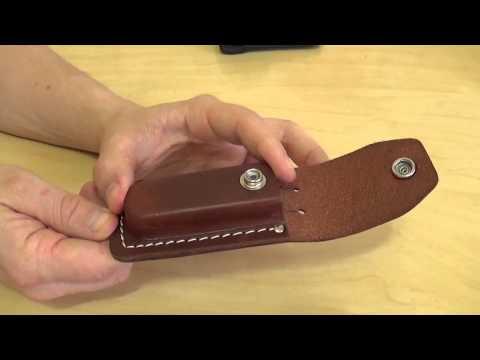 Чехол для ножа из кожи видео