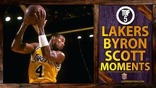 Lakers Nation Best Of: Top 5 Byron Scott Moments In Lakers History