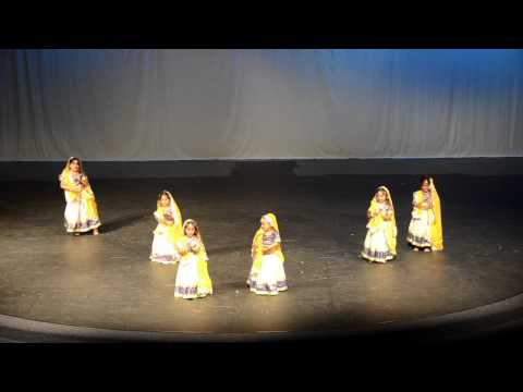 My little bumble bee performing bhumro..(second on right)