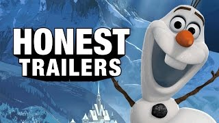 Thumb Honesto trailer para Frozen y para Hunger Games: Catching Fire