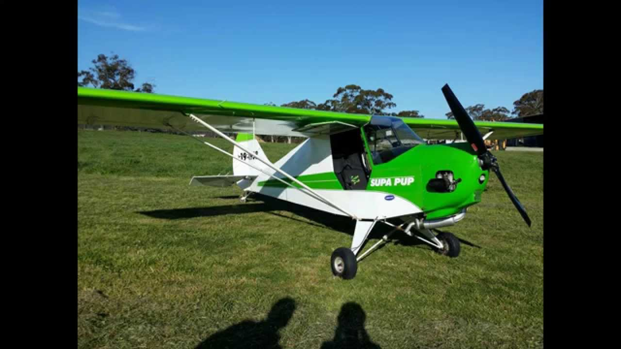 Australian supa pup mkii ultralight aircraft youtube for Country plans com