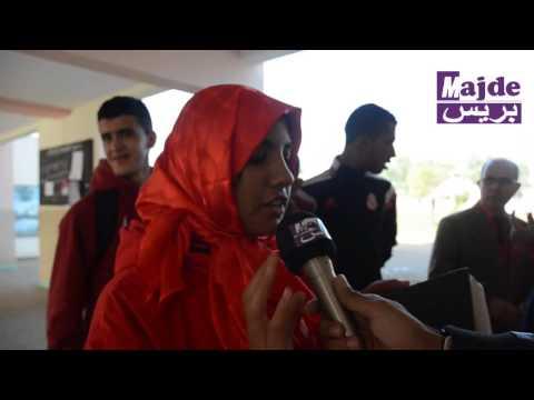 حملة تحسيسية حول مرض السيدا من تنظيم تلاميذ وأساتذة ثانوية محمد الخامس بسيدي