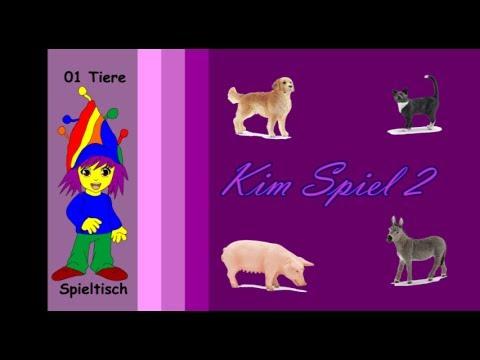 117  Tiere 7 Kim Spiel 2
