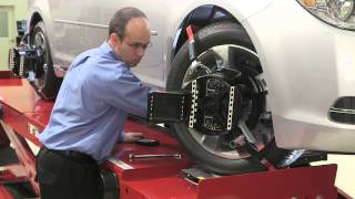 Wheel Alignment with WinAlign Software by Hunter Engineering