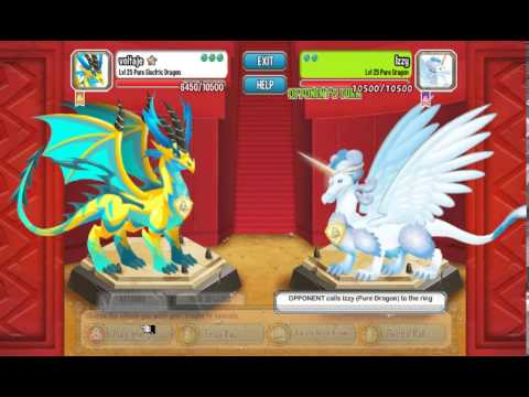 Dragon City Pure Electric Update Nov.08-12