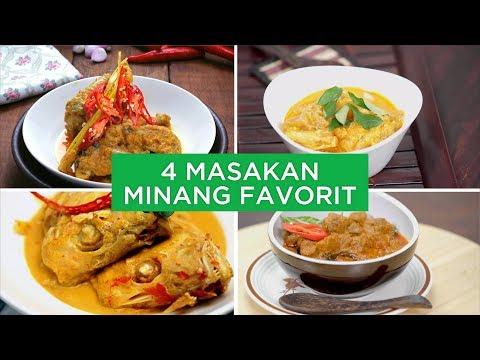 4 Masakan Minang Favorit | 4 WAYS