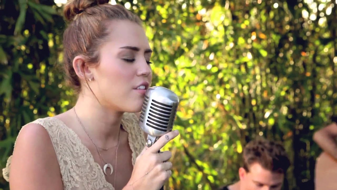 jolene miley cyrus the backyard sessions youtube
