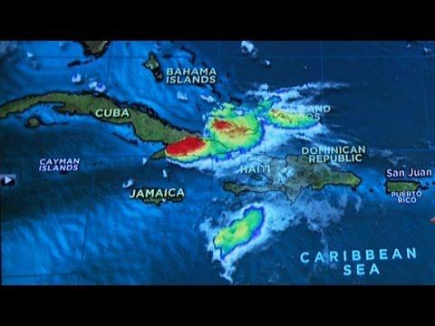 Erika no longer a tropical storm