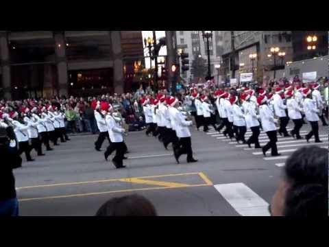 2012 Chicago McDonald's Thanksgiving Day Parade=Lowndes High School Georgia Bridgemen