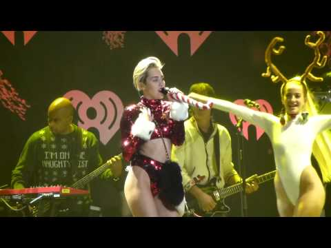 #GETITRIGHT - Miley Cyrus - KIIS FM Jingle Ball 102.7 - December 6, 2013
