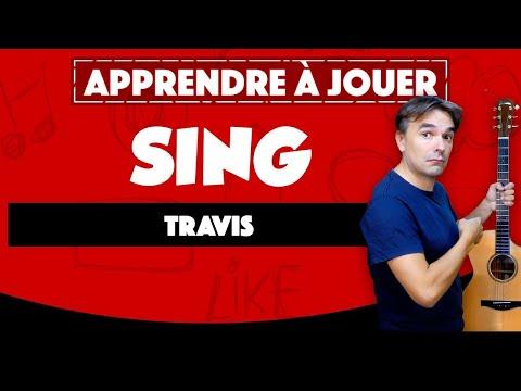 Apprendre Travis - Sing - à la guitare