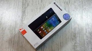 Распаковка Lenovo P70 с батареей 4000 мАч и приятной комплектацией (unboxing)