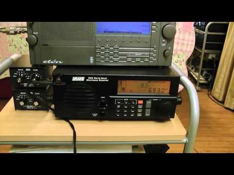 MW-DX 693kHz Radio BANGLADESH BETAR - Dhaka / Drake SW8 & Eton E1