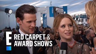 """The Crown"" Actors Are Starstruck at 2017 SAG Awards 