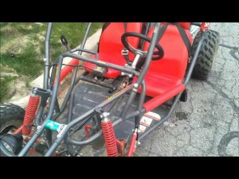 Crossfire 150 go cart repair