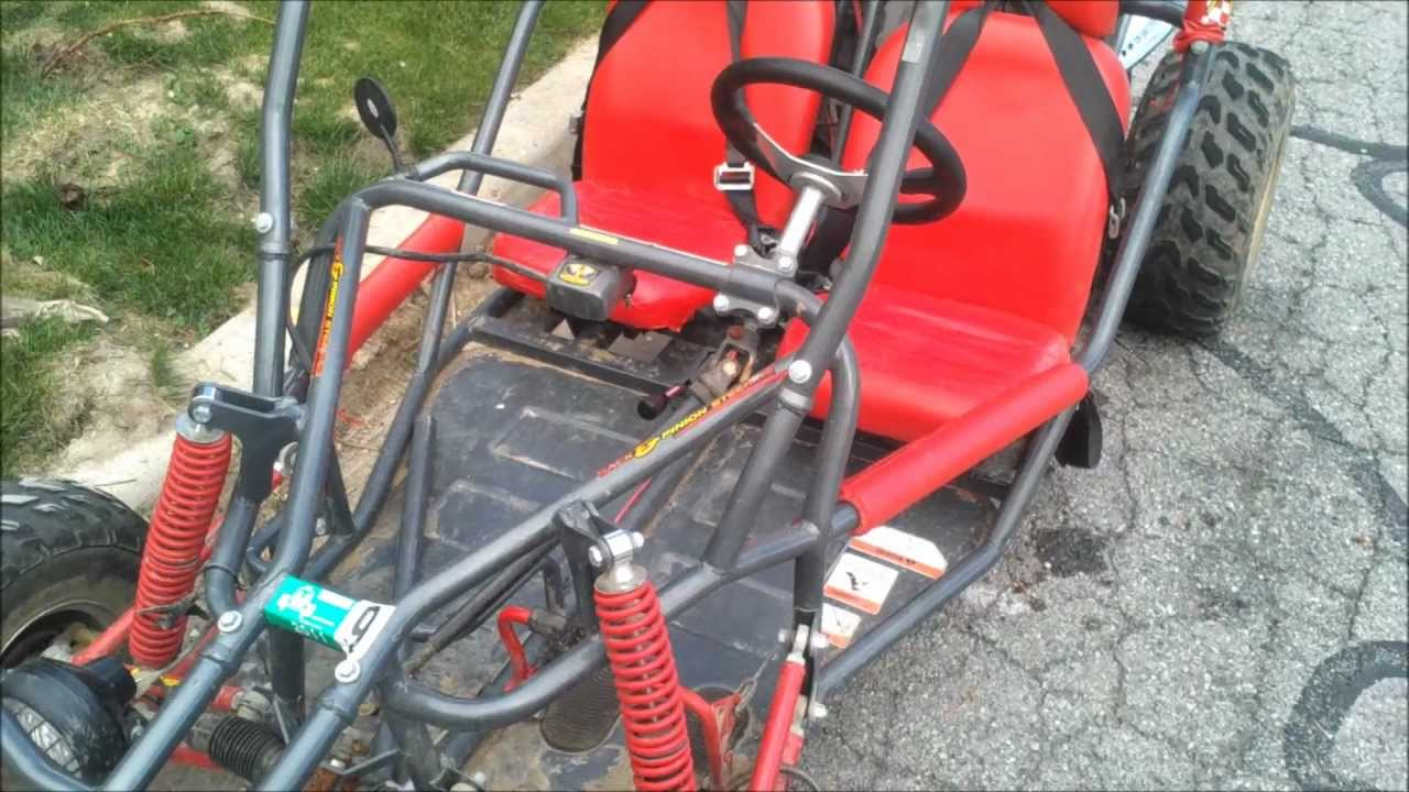 Crossfire 150 Go Cart Repair