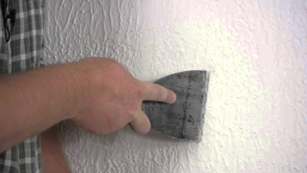 How To Repair Spackling On A Textured Wall Repairing