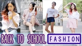 Back to School FASHION   Outfit Ideas for School 2016