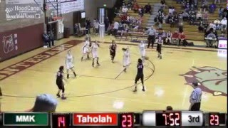 District Basketball: Mary M. Knight vs. Taholah