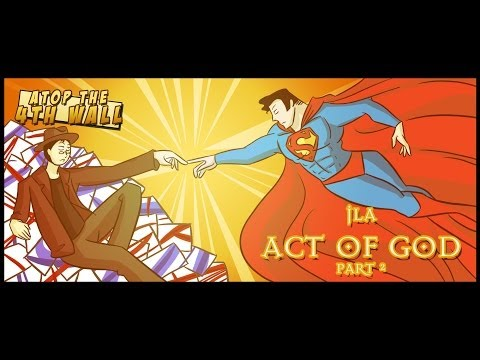 JLA: Act of God, Part 2 - Atop the Fourth Wall