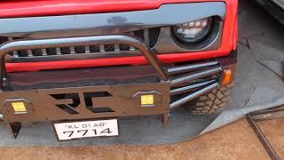 🔴Customized Suzuki Gypsy   🔰Retro Customz   🔥Gypsy with Loud Exhaust