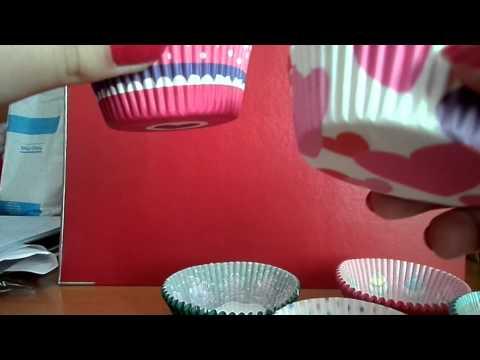 Как из бумаги сделать формочки для кексов своими руками