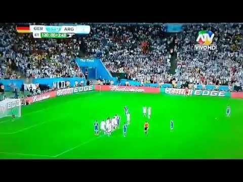 ALEMANIA VS ARGENTINA MUNDIAL BRASIL 2014  ATV