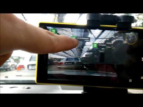 แนะนำการใข้งาน Nokia Lumia 720 Here City lens and map